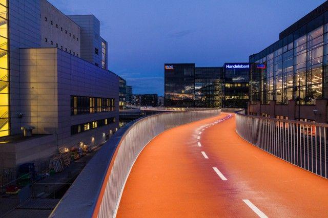 Cykelslangen Bike Lane | Copenhagen, Denmark