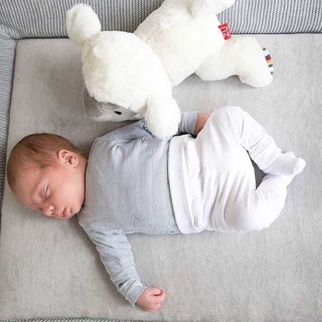 God morgon, eller? Med en liten baby kan nattsömnen variera. Varför inte prova det nya gosedjuret med inbyggd speldosa? En lätt skakning på lammet aktiverar speldosan som sedan automatiskt tystnar efter 10 min. Välj mellan 6 olika ljud varav lugnande hjärtslag är ett. Röstaktiverad. Om din baby vaknar och gråter så startar speldosan om. Nu i butik! #nyhet #zazu #vårnytt #bonti #speldosa #hjärtslag