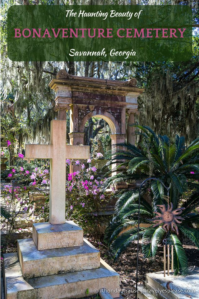travelyesplease.com | The Haunting Beauty of Bonaventure Cemetery (Blog Post) | Savannah, Georgia