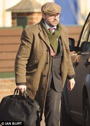 'Alcoholic': Brendan Coyle (pictured today outside King's Lynn Magistrates' Court) was nea...