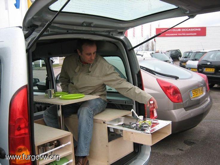 Extrêmement 98 best Citroen Berlingo images on Pinterest | Camper van  AA66