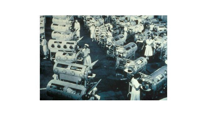 Haunted places in LA The Iron Lung ward at Rancho Los Amigos Hospital