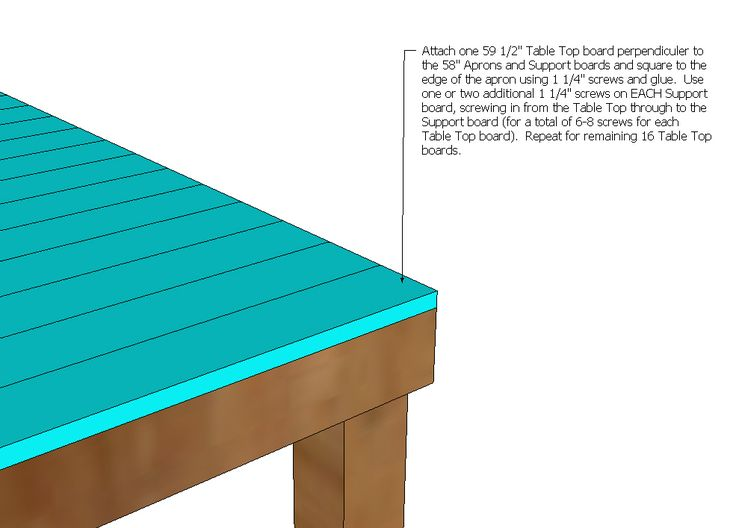 Free Bar Height Table Plans - WoodWorking Projects & Plans