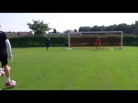 Walsall FC - Goalkeeper Viper Belt Training - YouTube