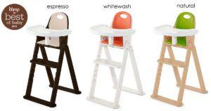 Svan Wooden Baby High Chair