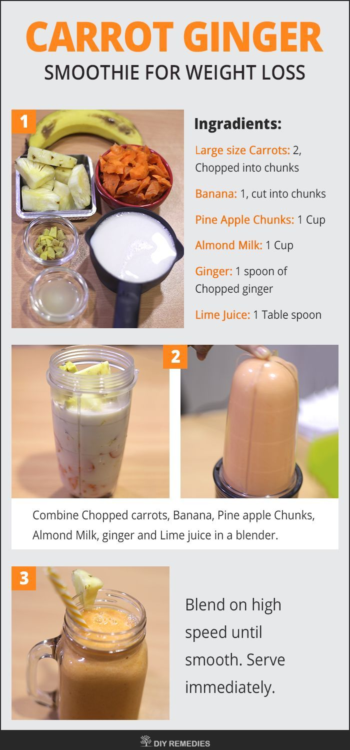 3 smoothies for weight loss