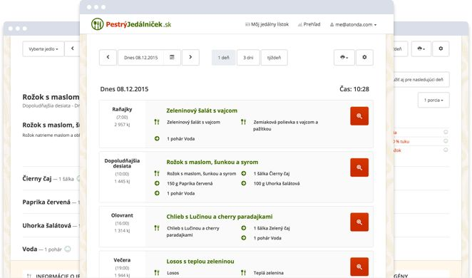 Pestrýjedálniček.sk - zdravý jedálny lístok na chudnutie za 2 minúty