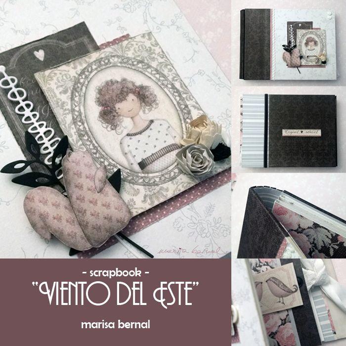 """Scrapbook """"Viento del Este"""""""