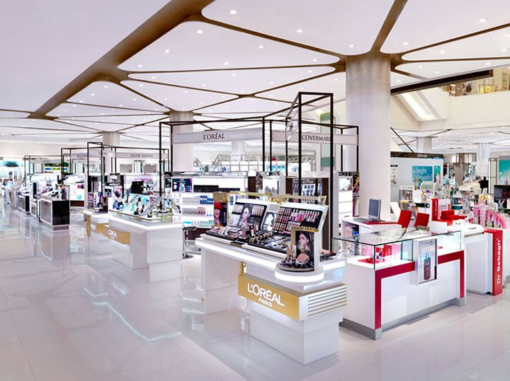 Siam Paragon Mall's beauty department store by HMKM, Bangkok – Thailand » Retail Design Blog