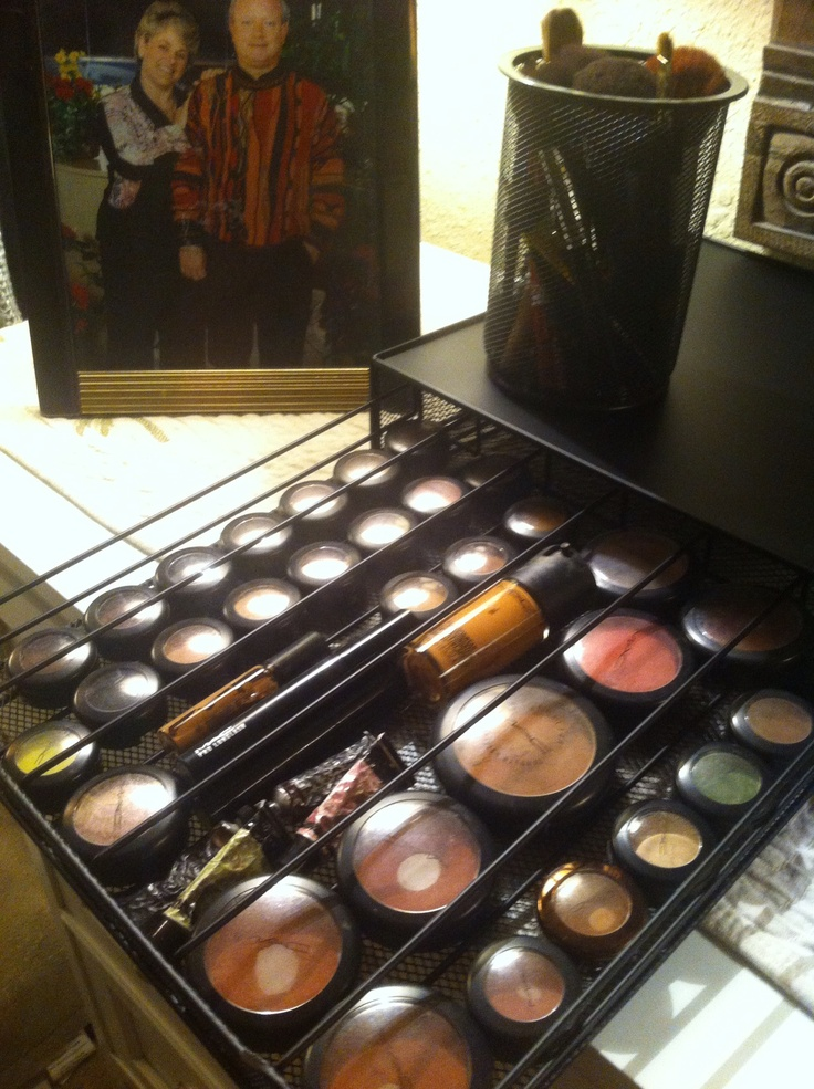 Yep I did it...it's kewl... Use KCup holder for Mac Make-Up holder love it.....