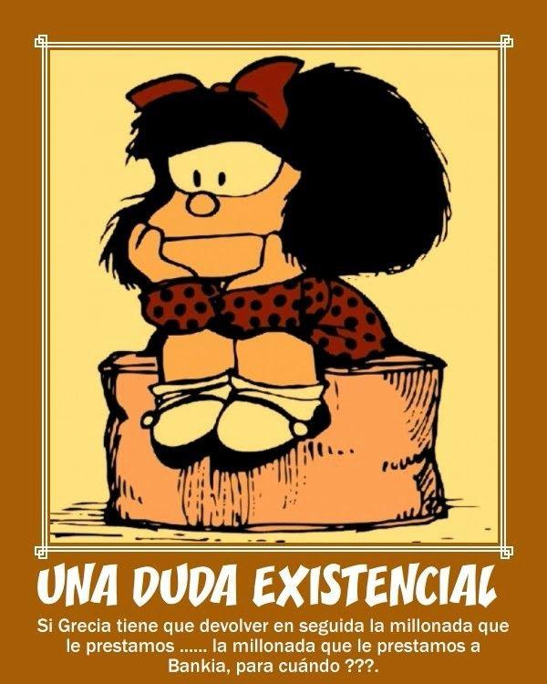 Mafalda y su duda existencial