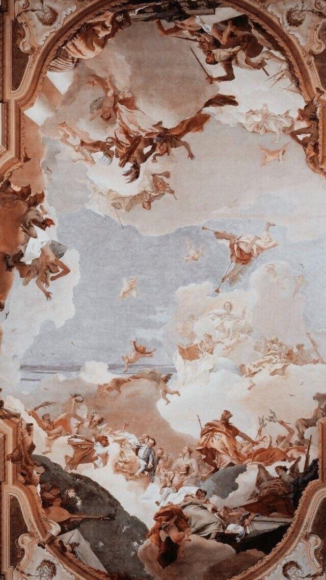 Renaissance Art Wallpaper Angel Wallpaper Aesthetic Painting Renaissance Art