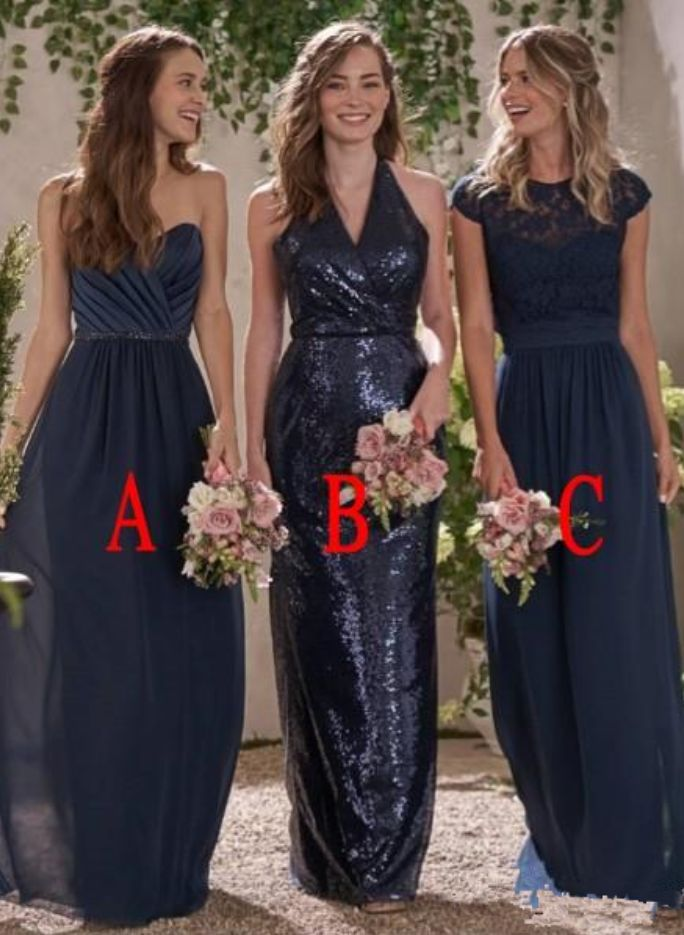 Bridesmaid Dresses For Weddings Navy Blue Sweetheart Jewel #Bridesmaid #Bridesmaiddress #dress #fashion #love #shopping #art #dress #women #mermaid #SEXY #Sexygirl #Bridesmaiddresses