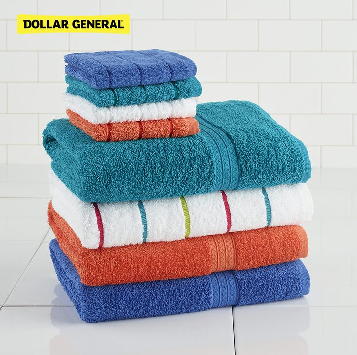 Grab your bath towels and more from Dollar General.
