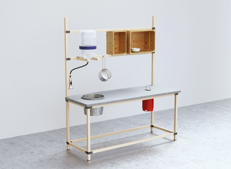 IKEA hacka kitchen concept optimized for user hack-ability