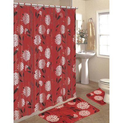 17 best ideas about burgundy curtains on pinterest white for Do shower curtains come in different lengths