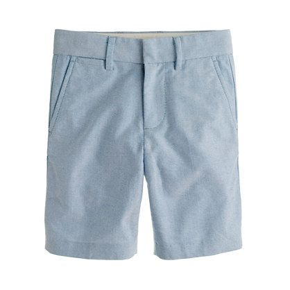 Another option for Johnny and Mason. Club short in Oxford Cloth. Neon Azure. In stock in 2 or 3.