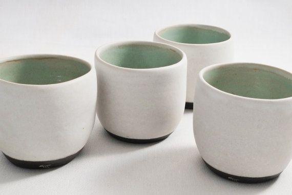 Tazzina da sake o caffè in gres 1260 e smalto vari di TerraInforme