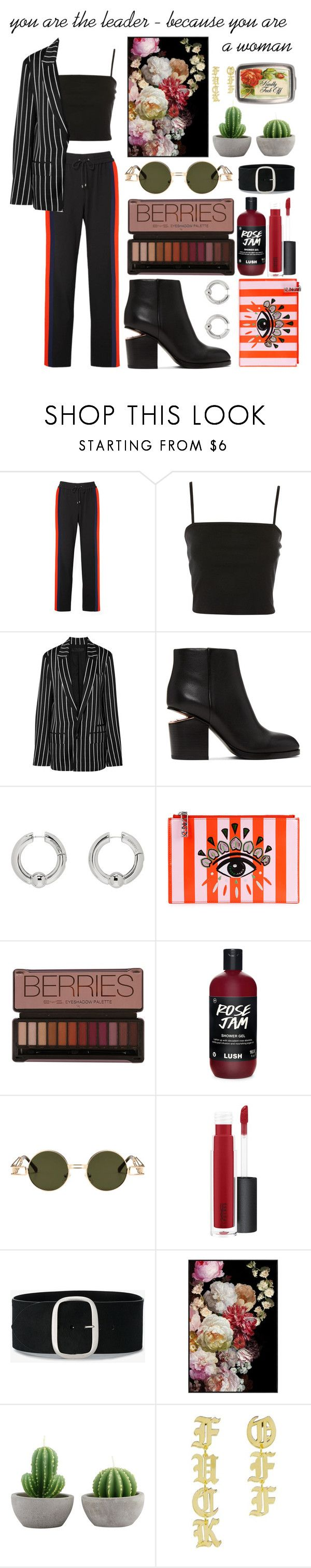 """Untitled #103"" by yuliaboycova ❤ liked on Polyvore featuring Kenzo, Topshop, Haider Ackermann, Alexander Wang, AMBUSH, John Lewis and Isabel Marant"