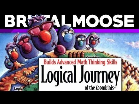Logical Journey of the Zoombinis - PC Game Review - brutalmoose // i loved this game as a child! though it did scare me bunches. ^^;