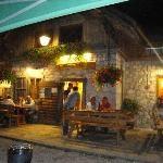 Camino Nero Pizzeria, Forno di Zoldo...we are here the first night in Zoldo