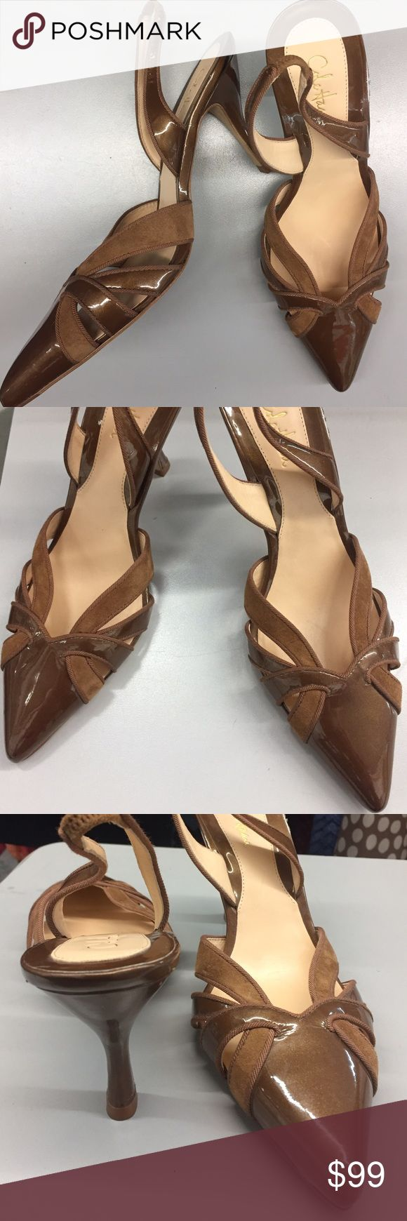 """✅SALE✅COLE HAAN SLINGBACK HEELS SIZE 7👠WORN ONCE ✅SALE✅COLE HAAN SLINGBACK HEELS SIZE 7👠WORN ONCE👠HEELS JUST HAVE A FEW MINOR SCRATCHES👠HEEL HEIGHT APPROX. 3""""👠MAKE OFFER👠 Cole Haan Shoes Heels"""