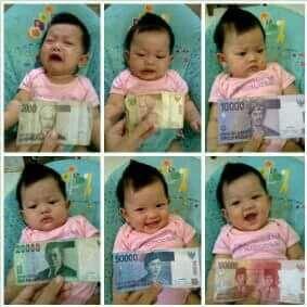 Bayi sekarang....
