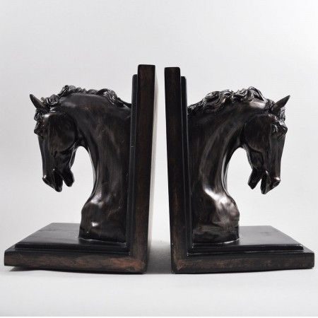 Horse Head Bookends - £64.99
