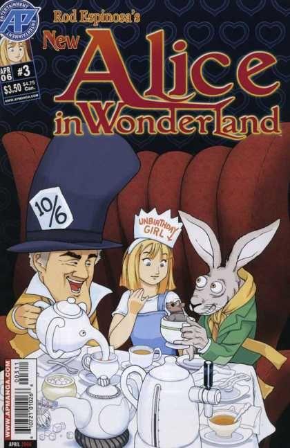 Kingdom Hearts Alice In Wonderland Tea Party Room