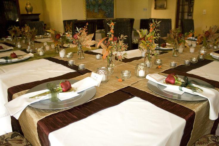 Autumn wedding decor  Monchique Boutique Guest House Muldersdrift