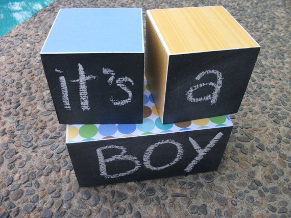 Age Blocks - Wooden Age Blocks - Monthly Pictures - Chalkboard Blocks - Monthly Blocks - Pregnancy Announcement - Maternity Pictures