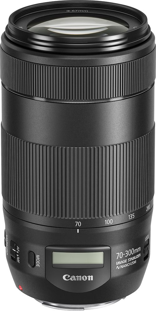 Canon - EF70-300 IS II USM Telephoto Zoom Lens for Canon Dslr Cameras
