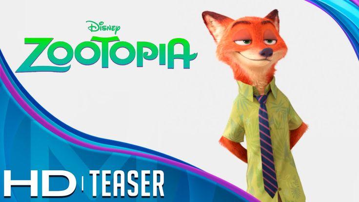 ZOOTOPIA - Teaser Tráiler - Español Latino - HD