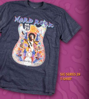 Check out the latest Signature Series featuring Jimi Hendrix. 15 % of all sales go to the Jimi Hendrix Park Foundation and the Fander Music Foundation..