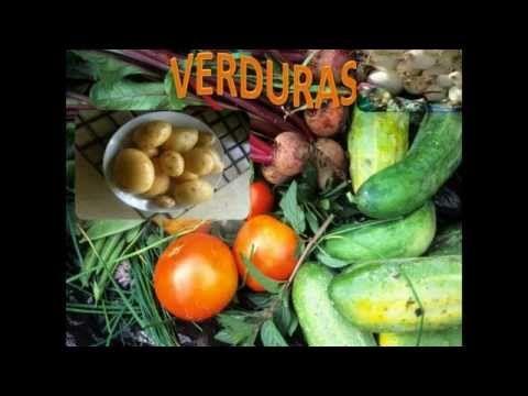 ▶ Los Alimentos Sanos, Healthy Food.(Pirámide Alimenticia) Video para Niños.