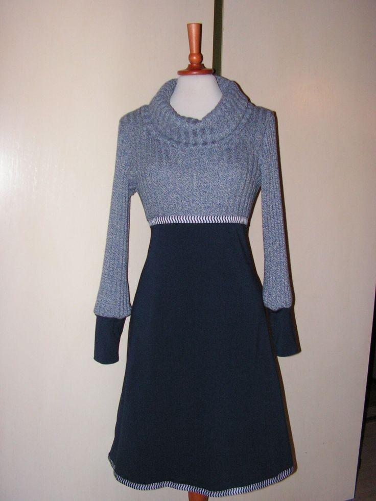 SWEATER kjolen er en vamset sag :-) Se flere kjoler på min Facebookside: https://www.facebook.com/pages/Doris-Vestergaard-Design/110763765613494?ref=bookmarks