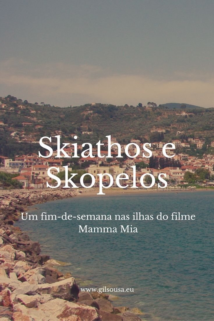 Fim-de-semana em #Skiathos e #Skopelos