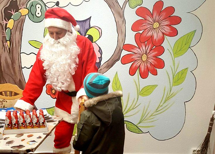 Der Nikolaus überrascht GCP-Mieterkinder in Bad Lausick | Grand City Property – GCP – Wohnungssuche Mietwohnung Wohnung mieten Immobilien