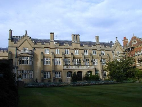 Sidney Sussex College: Hall Court: Master's Lodge (Ralph Symons)