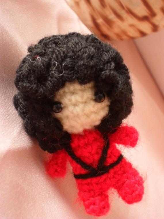 Amigurumi Yarn Michaels : MJ knit doll! LMAO Jenn is my favorite friend ...