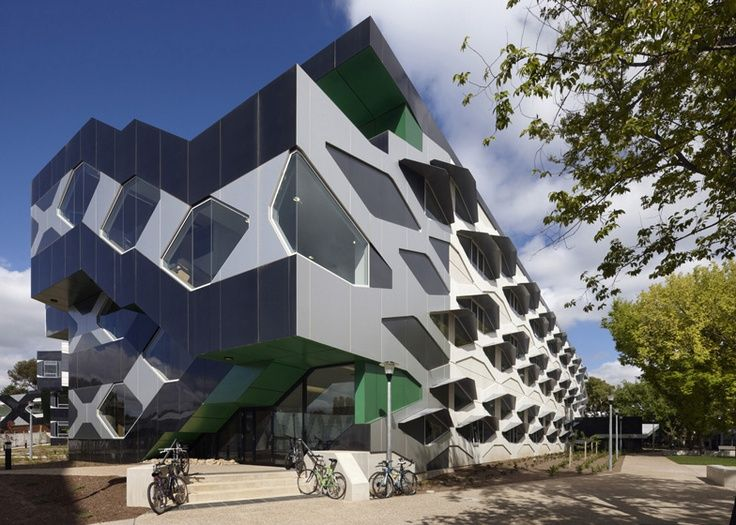 Biosciences Research Building at Australian National University in Canberra by Lyons
