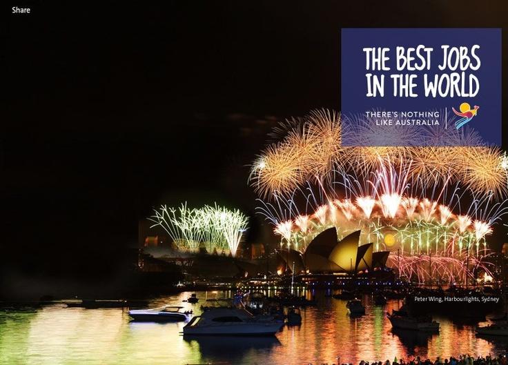 Concorso per vincere il miglior lavoro del Mondo: contratto di 6 mesi in Australia e $ 100.000 dollari australiani