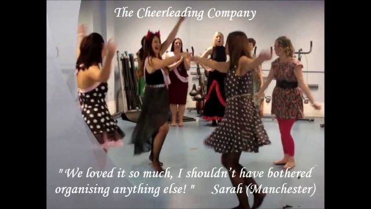 Dance Hen Parties by The Cheerleading Company. Some of our amazing #dance #hen #parties sent us videos from around the UK and we put them together. #cheerleadingcompanyfamily #lovemyjob Makes us smile every day : ) If it makes you smile too then why not book a dance hen party with us for your hen do! Call The Cheerleading Company team on 02086724586 or email us hens@cheerleadingcompany.co.uk