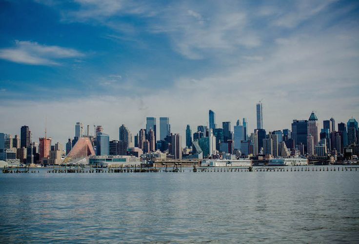 Port Imperial Weehawken New Jersey, manhattan skyline