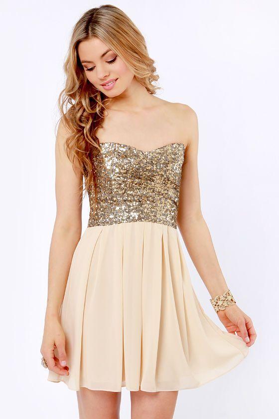 perrrty.com cute gold dresses (21) #cutedresses