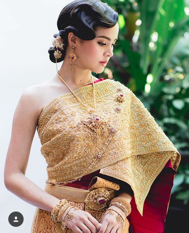 Thai Wedding Gowns: 252 Best Images About Thai Wedding Dress On Pinterest