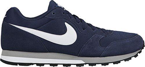 Nike Md Runner 2, Zapatillas de Running Hombre, Azul (Midnight Navy/White-Wolf Grey), 42 ✿ ▬► Ver oferta: https://cadaviernes.com/ofertas-de-zapatillas-nike-para-hombre/