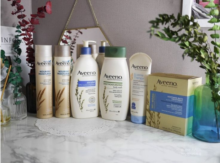 Read one Korean Beauty Influencer's review of Aveeno Hair and Body Care Products!