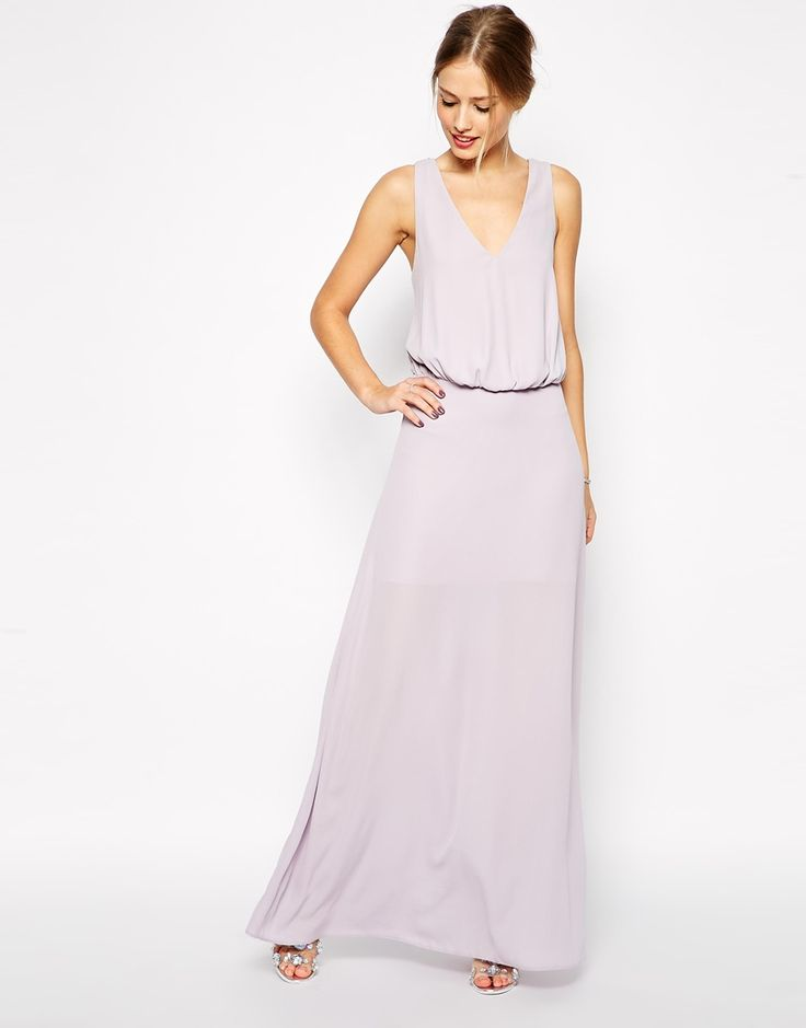 ASOS Embellished Back Maxi Dress