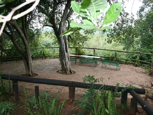 Viewing area at Punda Maria Restcamp